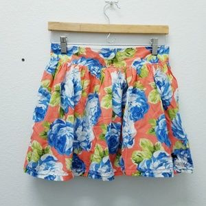 Abercrombie and Fitch Floral Mini Skirt
